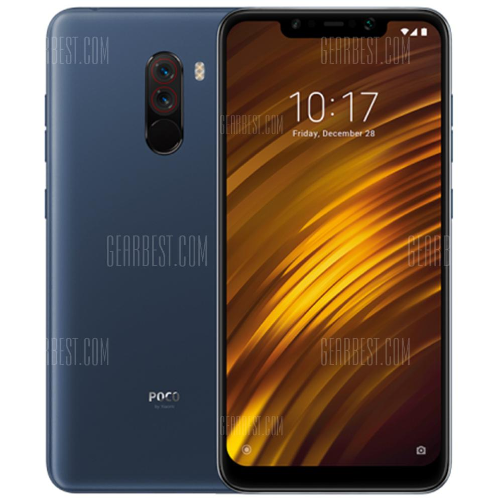 Xiaomi Pocophone F1 Version International à 61,52 € et bons plans Gearbest Amazon