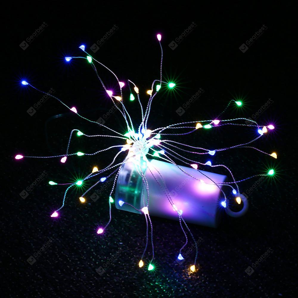 KPSSDD KPWJ003 LED Explosion Ball Style Copper Wire String Light