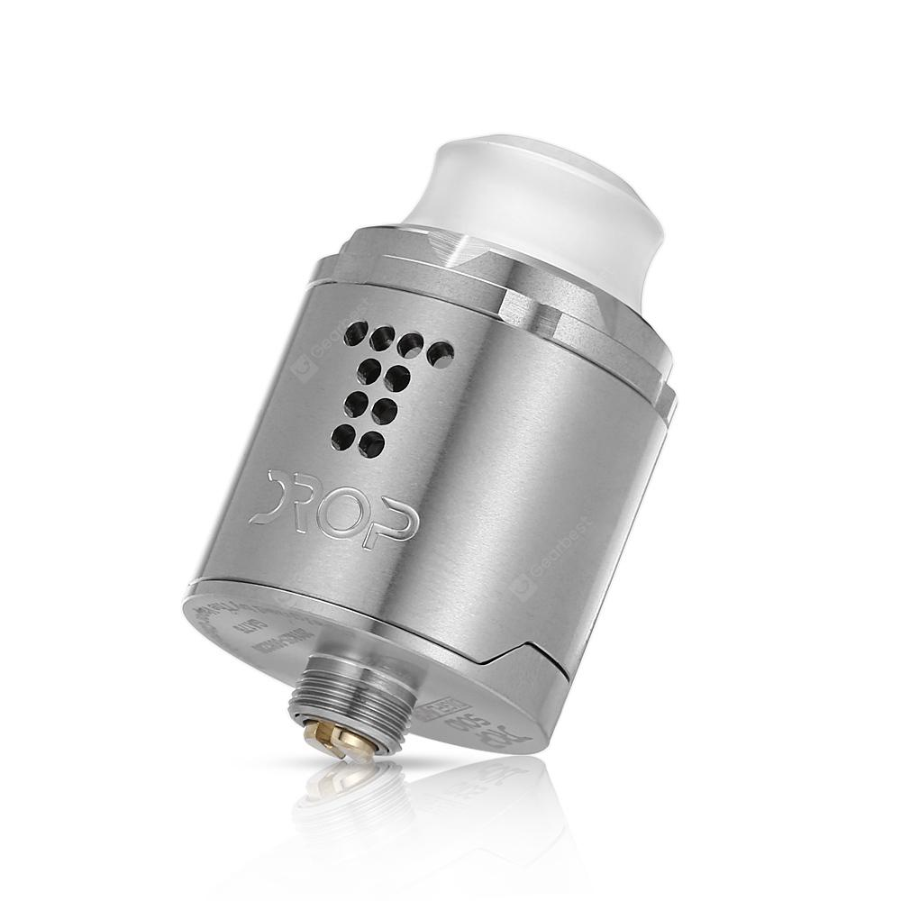 Digiflavor Drop Solo Rda 3327 Free Shipping Goon Styled 22mm Rebuildable Dripping Atomizer Black