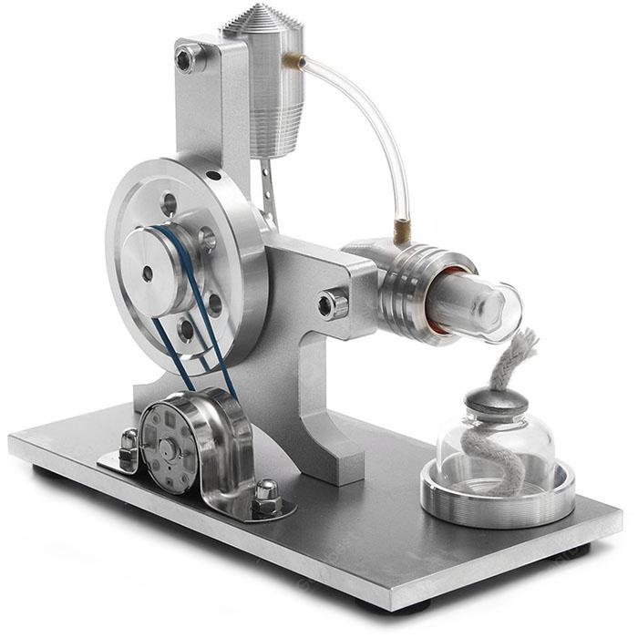 Stirling Engine Model DIY Steam Machine - SILVER