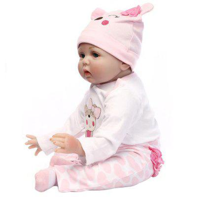 NPK Adorable Simulation Lifelike Newborn Silicone Baby Doll