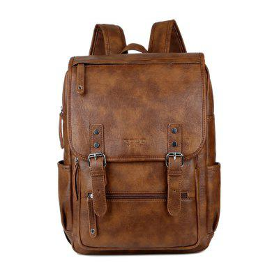 VICUNAPOLO Travel Backpack Man Bag Nero 5529 Fashion Casual