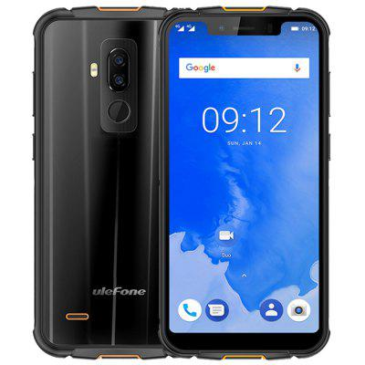 Gearbest Ulefone Armor 5 4G Phablet - BLACK 4GB RAM 64GB ROM 16.0MP + 5.0MP Rear Camera Fingerprint Sensor