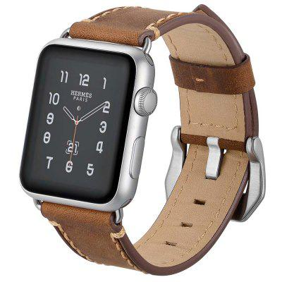 Stylish Leather Women's Strap for Apple Watch 38mm