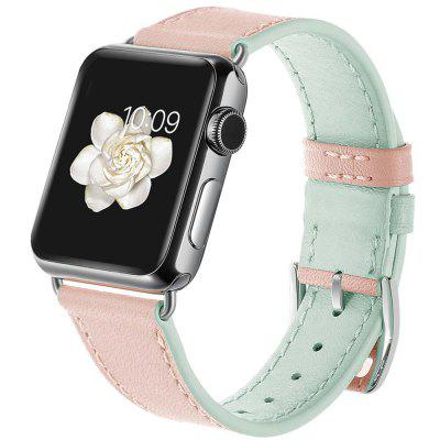 Two Color Blocks Design Women's Strap for Apple Watch 38mm