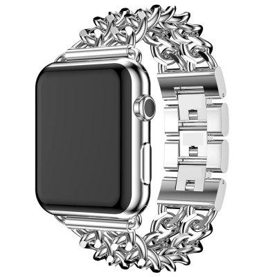 Stainless Steel Watchband for 42mm Dial Apple Watch Series