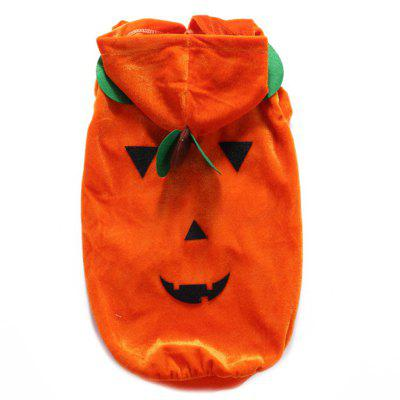 Lovely Healthful Halloween Pumpkin Clothing for Pet