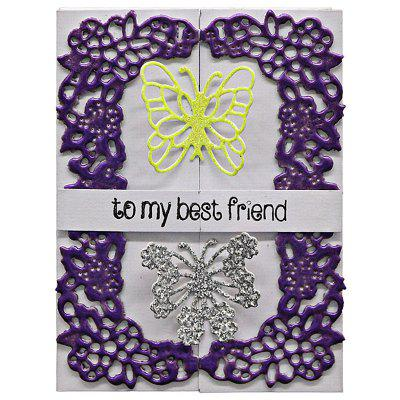 DIY Butterfly Lace Pattern Carbon Steel Cutting Die