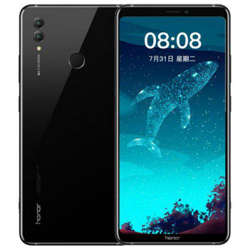 Gearbest HUAWEI Honor Note 10 8GB RAM 4G Phablet English and Chinese Version - BLACK 8GB RAM 128GB ROM 16.0MP + 24.0MP Rear Camera Fingerprint Sensor 5