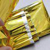Outdoor Emergency Rescue Insulation Sunscreen Survival Blanket - GOLD