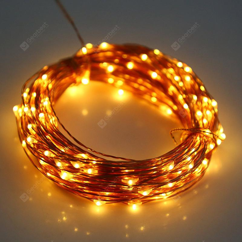 Utorch 5m 50-LED Decoration String Light - WARM WHITE 5M