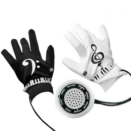 Creative Pair of Electronic Piano Gloves Music Gloves Toy - MULTI-A