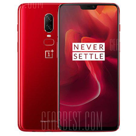 OnePlus 6 8+128 red