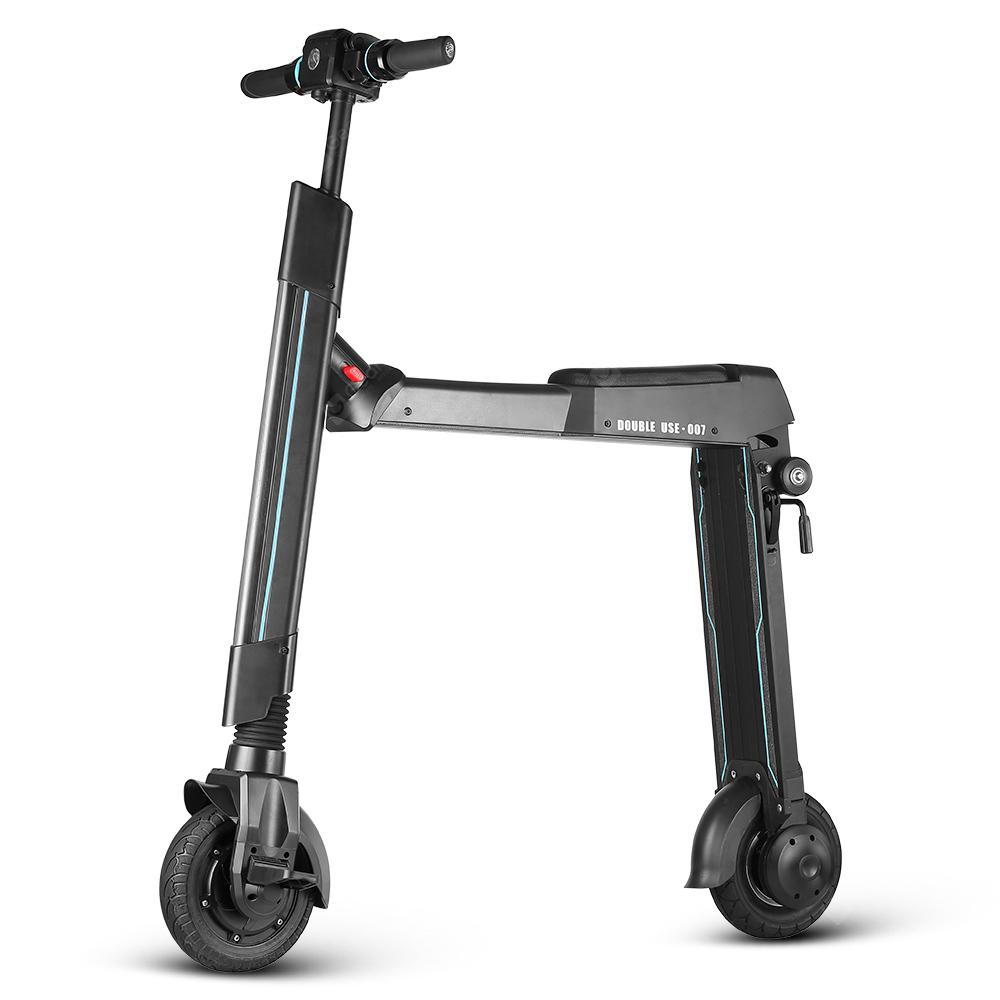 WW WWWETTER W - 007A Dual Use Electric Scooter Smart Folding Bike