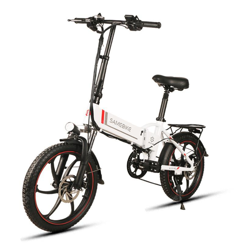 Samebike 20LVXD30 Smart Folding Electric Moped Bike E-cykel