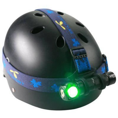 Skihunt H03C Rechargeable RGBW 4-color All-in-one LED Headlamp