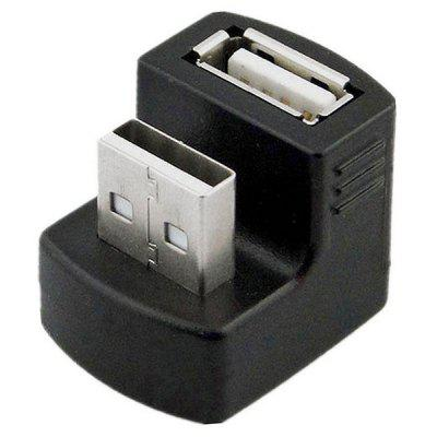 CY U2 - 099 Right Angled 3G Router USB Male to Female Extension Adapter