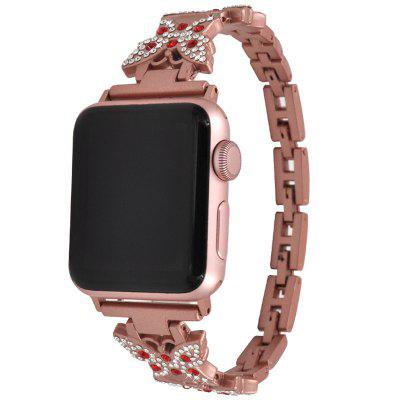 Butterfly Design Alloy Strap for Apple Watch 42mm