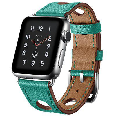 Hole Design Leather Women's Strap for Apple Watch 38mm