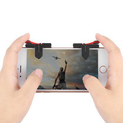 GOCOMMA Pair of Mobile Game Fire Button Aim Trigger Gaming Controller