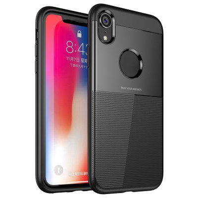 TPU + PC Phone Case com Air Bag para iPhone XR