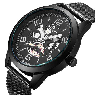 BAGARI 1686W Hollow Style Quartz Watch for Men