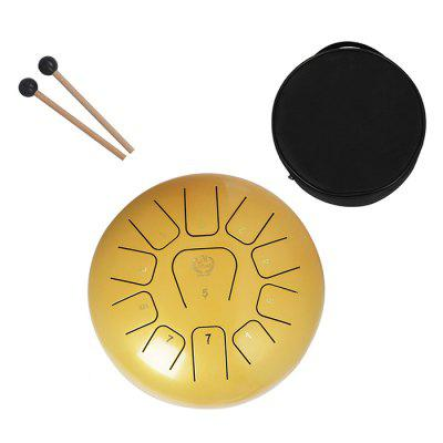 MEIBEITE 12 inch 11 Tone Steel Tongue Drum Set