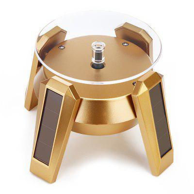 Trendy 360-degree Rotating Solar Display Cabinet Turntable