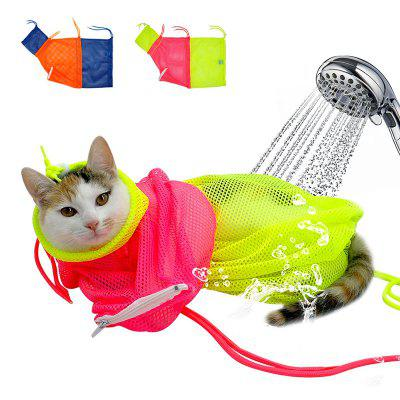 Nagel Trimmen Bad wassen Mesh Cat Bag Pet Grooming