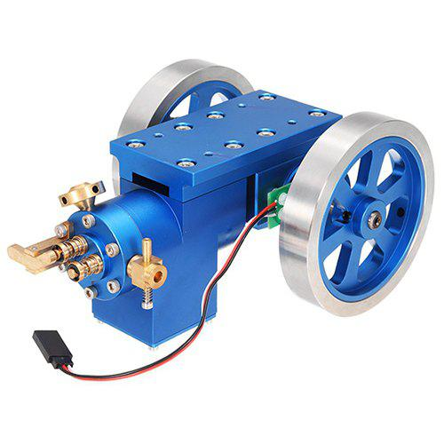 Metal Combustion Gas Engine Model Engine Set Scientific Toy COBALT BLUE