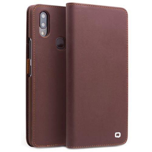 new arrival c038c 4f5a2 QIALINO Flip Leather Protective Phone Case for Vivo NEX Standard Version
