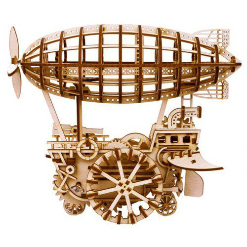 Robotime 3D Puzzle Wooden Block Airship Model