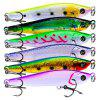 PRO BEROS Outdoor Simulation Fishing Lure Bait 6pcs - MULTI