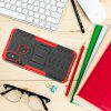 Luanke Shatter-resistant Stand Phone Case for Xiaomi Mi 8 - RED