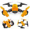LE IDEA IDEA7 2.4G 720P Foldable RC Drone with GPS - SAFFRON
