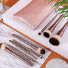 U802 - B - XM Exquisite High-end Makeup Brush from Xiaomi youpin 8pcs - COFFEE