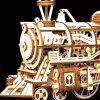 DIY Clockwork Locomotive bouwstenen set speelgoed - PERZIK