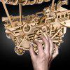 Robotime 3D Puzzle Wooden Block Airship Model Toy 349pcs - BLANCHED ALMOND