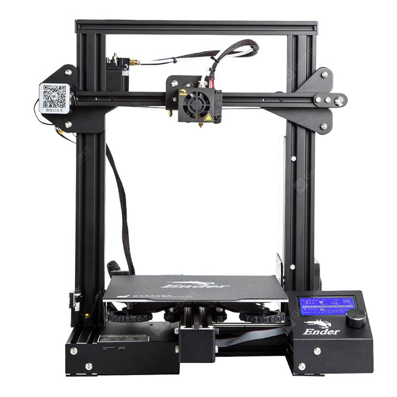 Creation3D Ender - 3 Pro High Precision 3D Prentari DIY Kit Stál Frame LCD Skjár