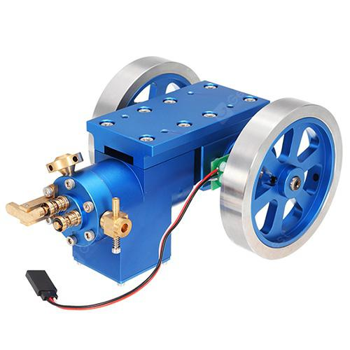 Metal Combustion Gas Engine Model Engine Set Scientific Toy - COBALT BLUE
