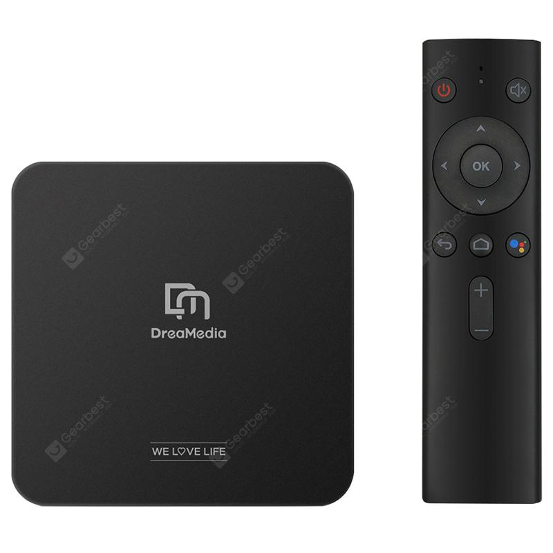 DreaMedia M1 Google Certified Android TV Box with Voice Remote