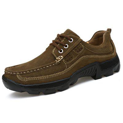 Men Lace Up Suede Wearable Casual Shoes