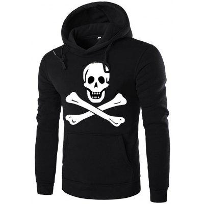 Sudadera con capucha de Halloween Winter Halloween Pullover Hooded Skull