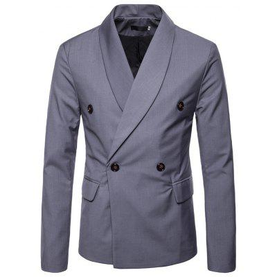 Leisure Stylish Double-breasted Blazer for Man