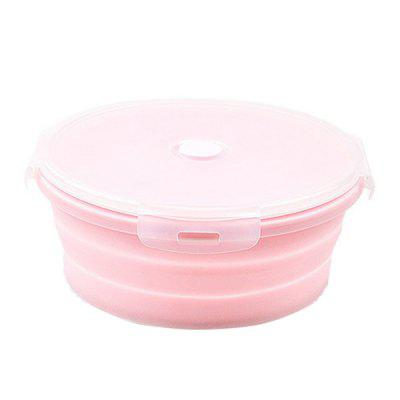 Silicone Food Container Portable Lunch Box
