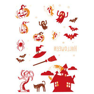 Waterproof One-time Luminous Halloween Tattoo Stickers