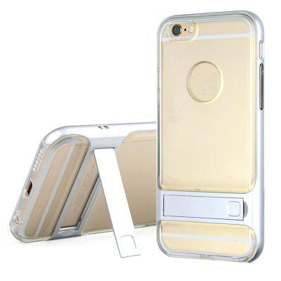 Naxtop Soft TPU +Hard PC Back Bumper Phone Cover Case with Bracket for iPhone 8