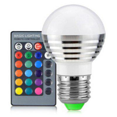 Fashion Colorful LED Bulb Remote Color Changing Spotlight
