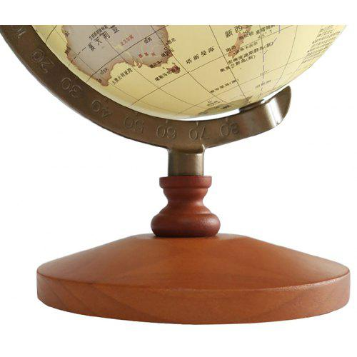 Antique Globe Office Solid Wood Table Decoration