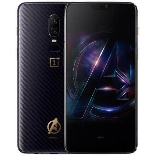 OnePlus 6 The Avengers Edition 4G Phablet International Version – Black 268308701 8GB RAM 256GB ROM 16.0MP + 20.0MP Rear Camera Fingerprint Scanner